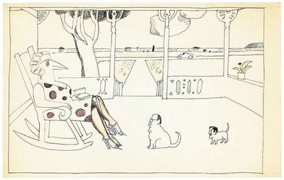 Saul Steinberg, 'Untitled', 1983