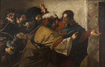 Giovanni Serodine, 'The Tribute Money', 1625