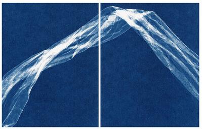 Alyson Belcher, 'Treading Light no. 21 (diptych) - framed white', 2020