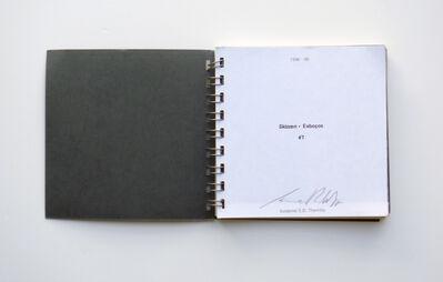 Susanne S. D. Themlitz, 'Skizzen - esboços #7', 1996-1998