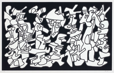 Jean Dubuffet, 'Evocations (Conjuring), from Fables', 1976