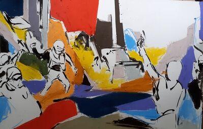 Itvan Kebadian, 'Sans Titre V', 2021