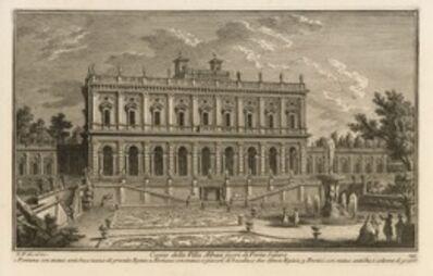 Giuseppe Vasi, 'Casino della Villa Albani Suori di Porta Salara', 1747-1801