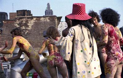 Yayoi Kusama/Ushio Shinohara, 'Yayoi Kusama - New York Rooftop Performance 1 (set 2)', 1970