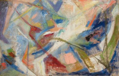 Quita Brodhead, 'Abstract Forms', 1958