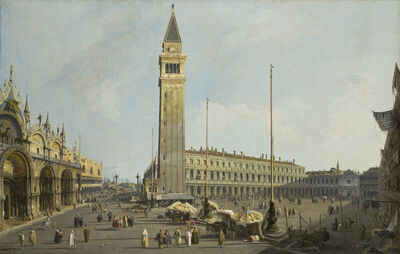 Canaletto, 'The Square of Saint Mark's and the Piazzetta', 1731