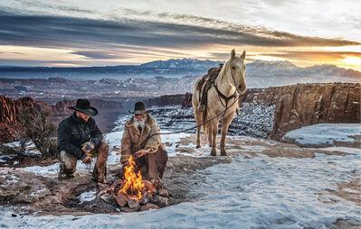 David Yarrow, 'Blazing Saddles', 2021