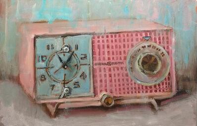 Bradford J. Salamon, 'Pink GE Clock Radio', 2020