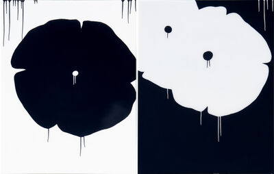 "Hamilton Aguiar, '""Three Flowers""', 2019"