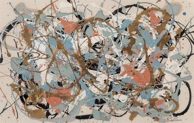 Mike Bidlo, 'Untitled (Not a Pollock)'