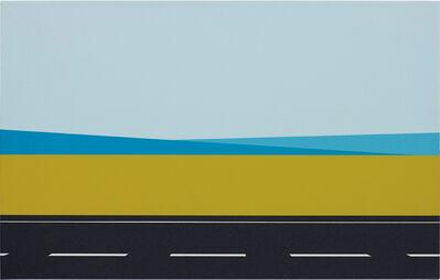 Julian Opie, 'Roadscape 61', 2001