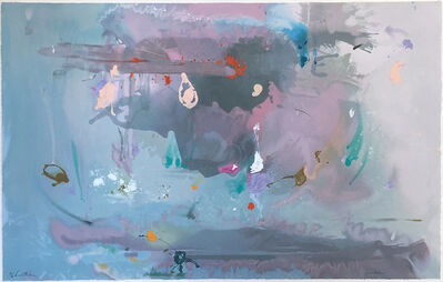 Helen Frankenthaler, 'Grey Fire Works', 2000