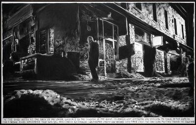 Rinus Van de Velde, 'In the dark alley at the back of my studio,...', 2017