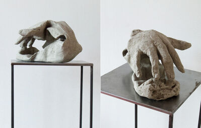 Kasia Ozga, ' Head On III (À Bras-le-corps)', 2015