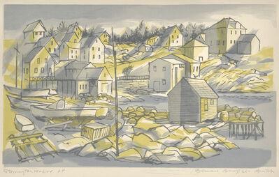 Bernard Brussel-Smith, 'Stonington Harbor [Maine]', 1954