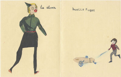 Mari Garcia, 'The Clown - Fleeting Tread', 2014