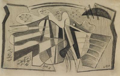 Werner Drewes, 'Composition', 1940