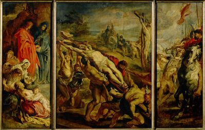 Peter Paul Rubens, 'The Elevation of the Cross (Sketch)', ca. 1609