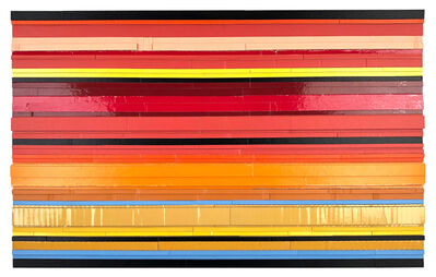 Ryan Sarah Murphy, 'Throughway - Black Lines 2', 2020