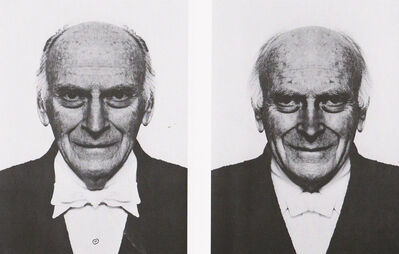 Jiří David, 'Yehudi Menuhin, from the series Hidden Image', 1994