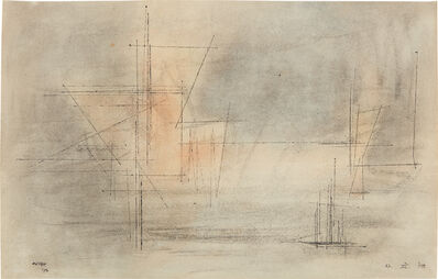 Lyonel Feininger, 'Sky Space', 1953Achim Moeller, Managing Principal of The Lyonel Feininger Project LLC, New York – Berlin has confirmed the authenticity of this work, which is registered under no 1425, 04, 13, 17