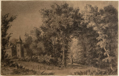 Gustave Courbet, 'Paysage Romantique', ca. 1840
