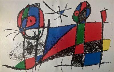 Joan Miró, 'Original Lithograph VI', 1975