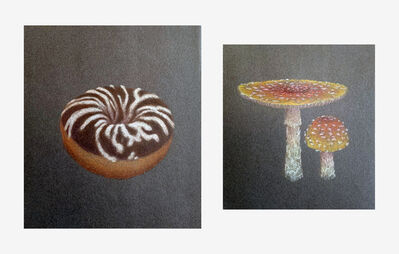 Eric Beltz, 'Amanita and Cake Doughnut', 2003