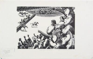 Lou Barlow, 'Steeplechase', 1935-WPA