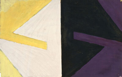 Michael Kidner, 'Yellow into White: Violet into Black', 1959