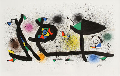 Joan Miró, 'Sculptures (M. 950)', 1974