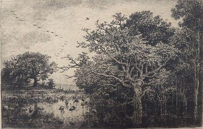 Charles François Daubigny, 'Le Marais (Aux Cigones)', 1874