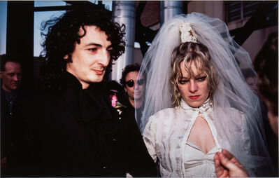 Nan Goldin, 'Cookie and Vittorio's Wedding: The Ring, New York City', 1986