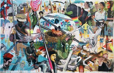 Yann Leto, 'Agrupación de mujeres violentas', 2017
