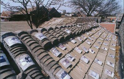 Yin Xiuzhen 尹秀珍, 'Roof Tiles', 1998
