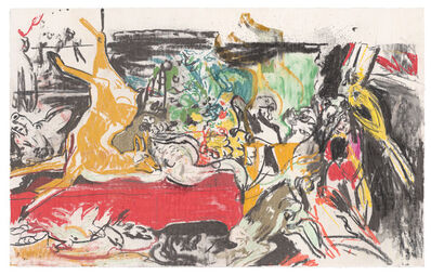 Cecily Brown, 'Untitled (Nature Morte after Frans Snyders) ', 2020