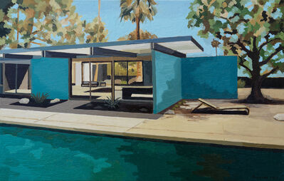 Andy Burgess, 'Wexler Family Home, Blue Walls', 2019