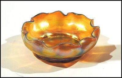 Louis Comfort Tiffany, 'Tiffany Favrile Glass Bowl ', 20th Century