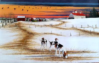 William Dunlap, 'Three Dogs Fly Away', 2015