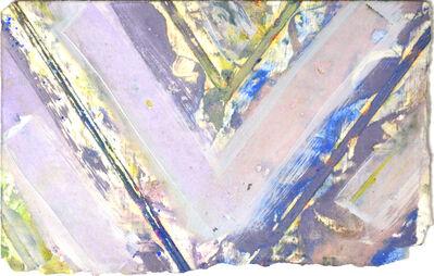 Kenneth Noland, 'Chevron', 1983