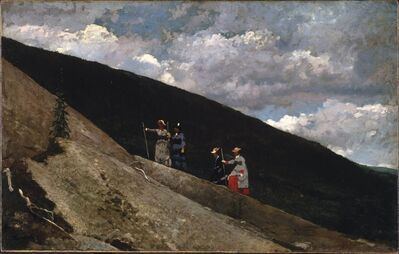 Winslow Homer, 'In the Mountains', 1877
