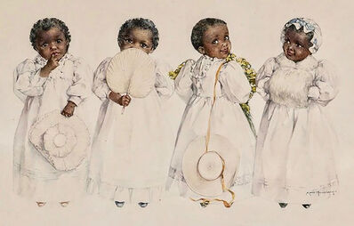 Maud Bogart Humphrey, 'Chocolate Creams', 1894