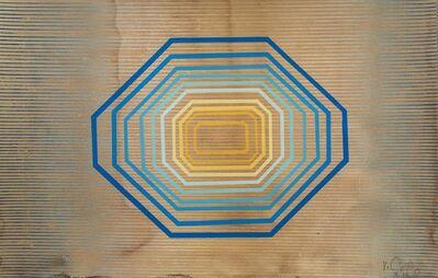 Kelly Ording, 'Space Elevator (Blue Print)', 2015