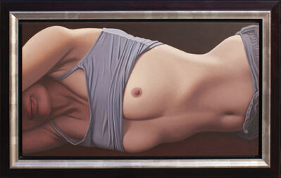Willi Kissmer, 'Liegende in Grau', 2006