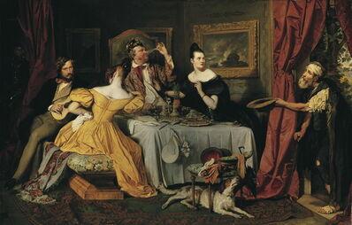Josef Danhauser, 'Spendthrift', 1836