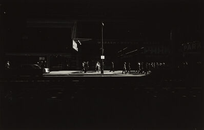 Harry Callahan, 'Wabash Avenue, Chicago', 1958-printed later