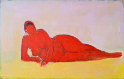 Paul Resika, 'Red Nude', 1993