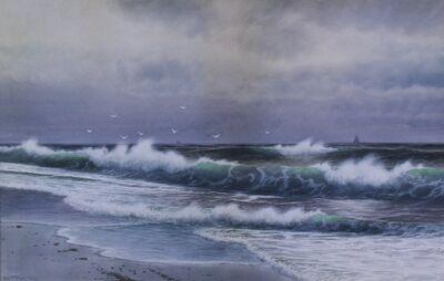 George Howell Gay, 'Crashing Waves', Circa 1910