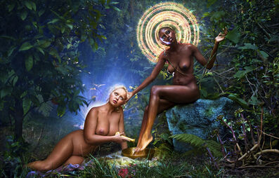 David LaChapelle, 'We Forgave Deeply Then Love Flooded Our Hearts', 2017