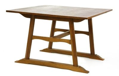 George Walton, 'An Arts and Crafts oak dining table'